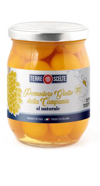 Pomodoro Giallo della Campania al Naturale--Piennolo