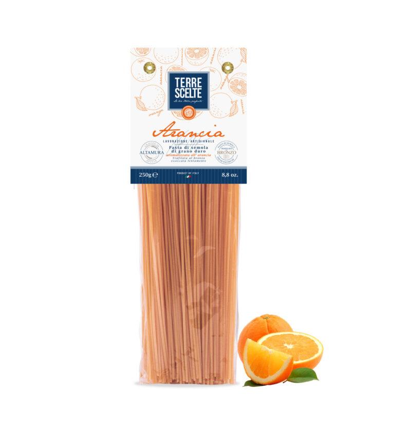 Spaghetti all'arancia-Aromatizzate-Pasta artigianale