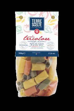 Rigatoni-Le tricolori-Pasta artigianale