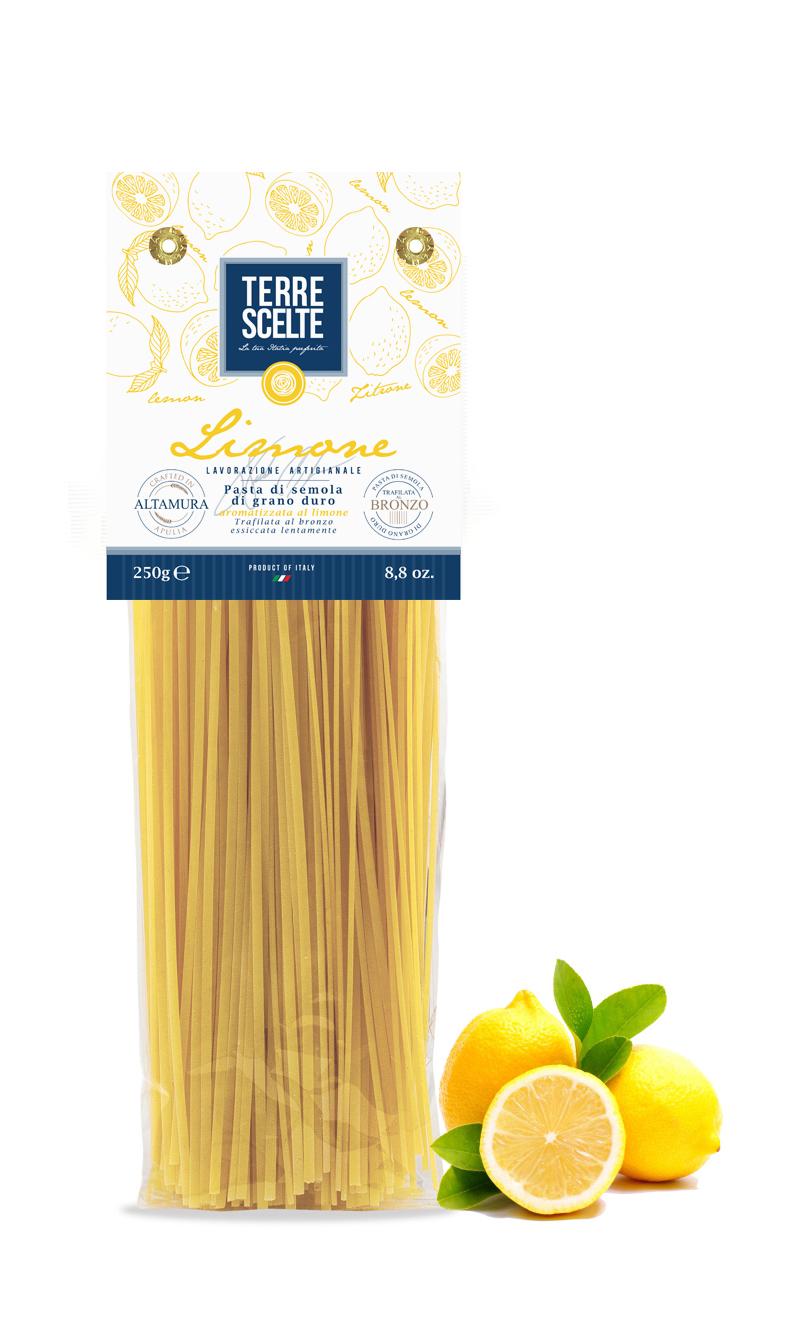 Spaghetti al limone-Aromatizzate-Pasta artigianale